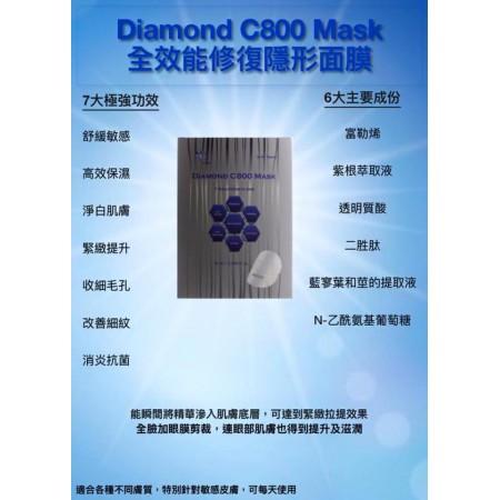 Chika Diamond C800 Facial Mask