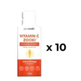YourZooki Liposomal Vitamin C Zooki™   10 (1000mg) Sachets for 10 days